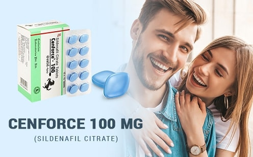 Fill Her at the Bedtime by Reducing Erectile Dysfunction with Cenforce 100