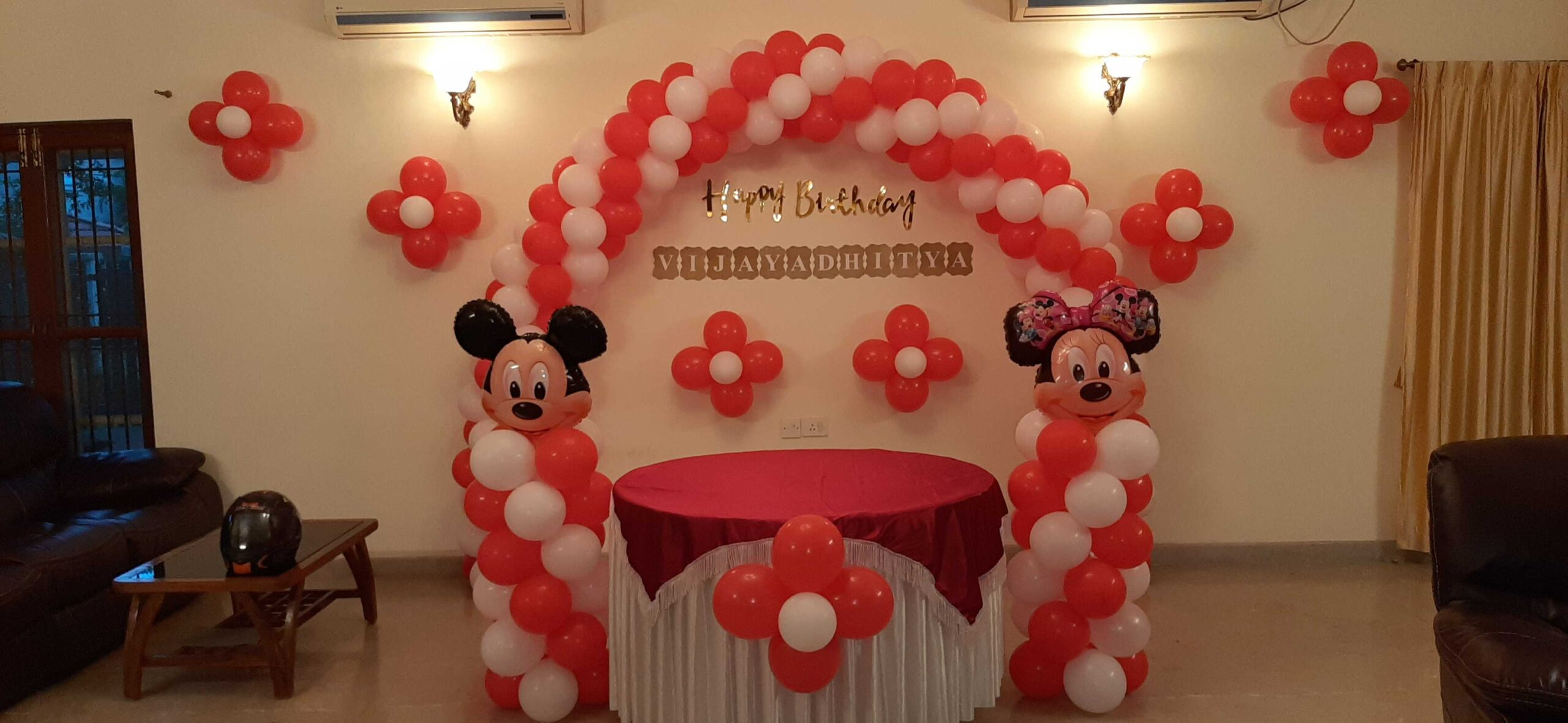 Simple Balloon Decoration Ideas For Birthday At Home