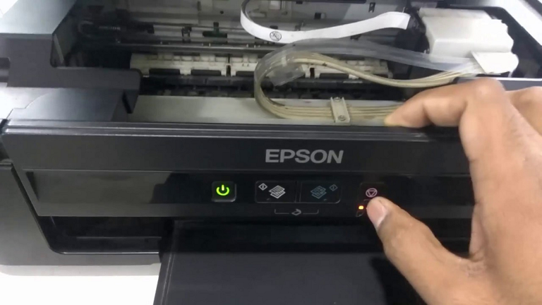 How to Resolve Epson Printer Power Light Flashing Continuously