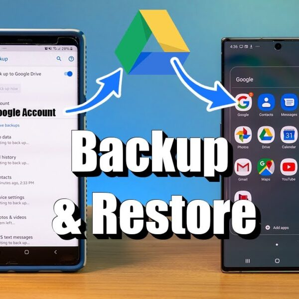 How to restore android phone from google backup